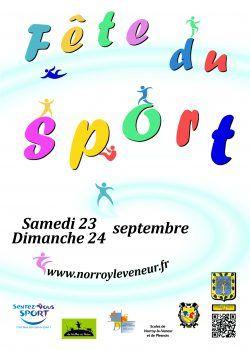 Fête Du Sport Samedi 23 Et Dimanche 24 Septembre