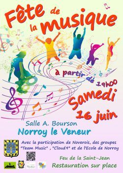 Fête De La Musique Samedi 16 Juin à Partir De 19 H