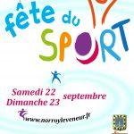 Fête Du Sport Les 22 Et 23 Septembre